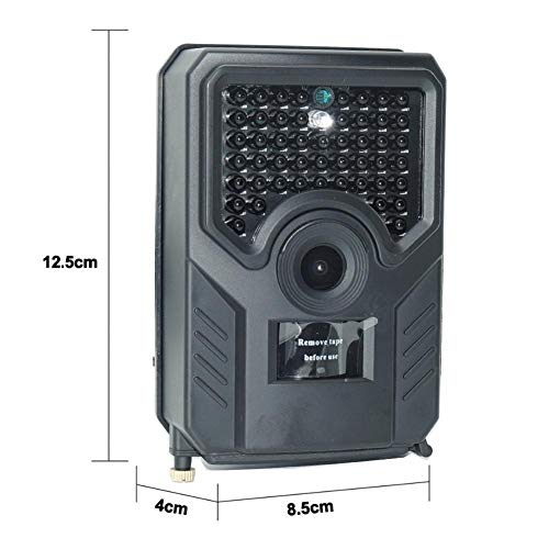 Kuangqianwei wildcamera met bewegingsmelder nachtzicht PR200B HD 1080P jachtcamera waterdichte multifunctionele trapping monitoring camera visuele warmtebeeldcamera