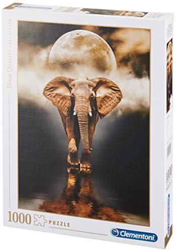 Clementoni 39416'der Elefant-HQC Puzzle, 1000 Teile Piezas, multicolor, pezzi (39416.6)