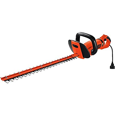 BLACK+DECKER HH2455 Hedge Trimmer, 24 inches