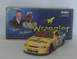 Dale Earnhardt Sr #3 Wrangler Jeans Monte Carlo 1999 Charlotte All Star Race Paint Scheme 1/24 Scale Hood, Trunk Open Action Racing Collectibles