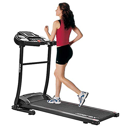 Treadmill Folding Electric Treadmill Motorized Running Jogging Machine Easy Assembly Electric Treadmills for Home, 12 Programs with Audio Auxiliary Port L510C