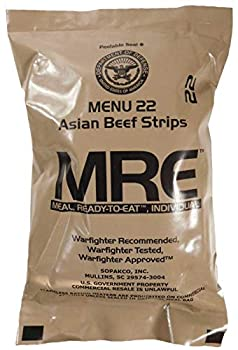 MREs  Meals Ready-to-Eat  Genuine U.S Military Surplus  1 Pack  Assorted Flavor