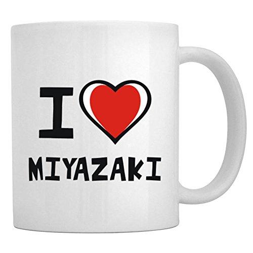 Teeburon I Love Miyazaki Taza