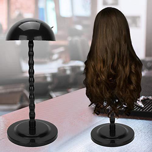 Support de perruque, affichage de perruque de coiffeur Forme ronde Portable Support de chapeau de perruque stable pour coiffeur étudiant de coiffeur pour salon de beauté et ménage