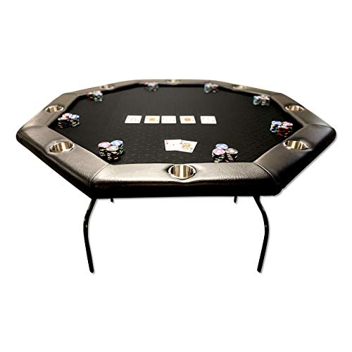 PokerSharkTables Suited Speed Cloth Folding Poker Table 50