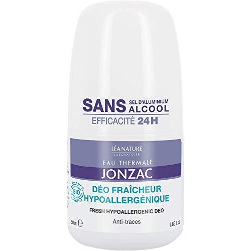 Jonzac Eco-Bio, Desodorante (Hipo Alergénico y sin aluminio)- 50 ml