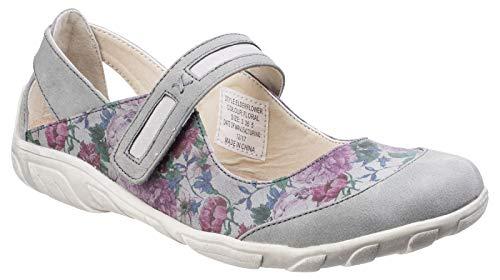 Fleet & Foster Womens Elderflower Touch Fastening Shoe Floral Size UK 7 EU 40