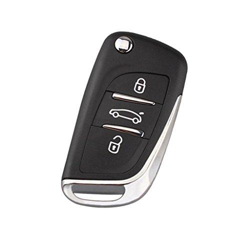 MagiDeal 3 Tasto Chiave Remoto Guscio Shell Sostituzione Fob Per Porsche Boxter 911 Cayman