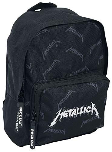 Metallica Drip Mochila Negro