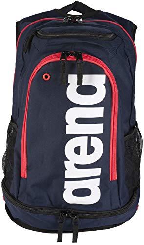 ARENA Fastpack Core Mochila, Unisex Adulto, Multicolor (Navy/Red/White), 36x24x45 cm (W x H x L)