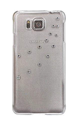 Diamond Cover Elements Rock Crystal 135374 - Cover per Samsung Galaxy S6 Alpha, con Cristalli Swarovski, Colore: Trasparente