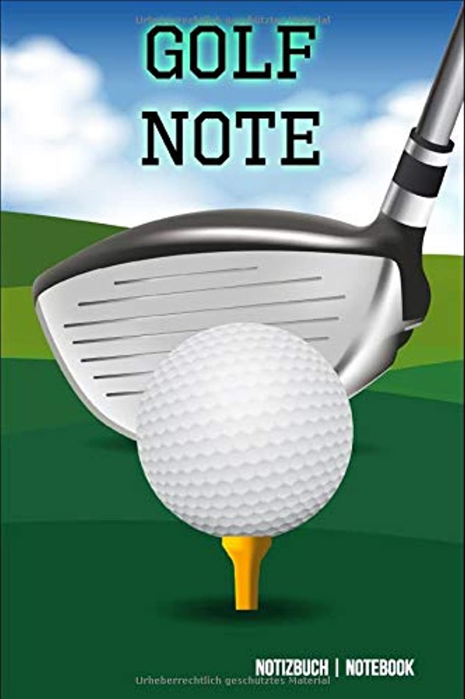 ライン道路を作るプロセス俳句Golf Note: Golf Training | Notebook | 110 Seiten | Golf Notizbuch 6 x 9