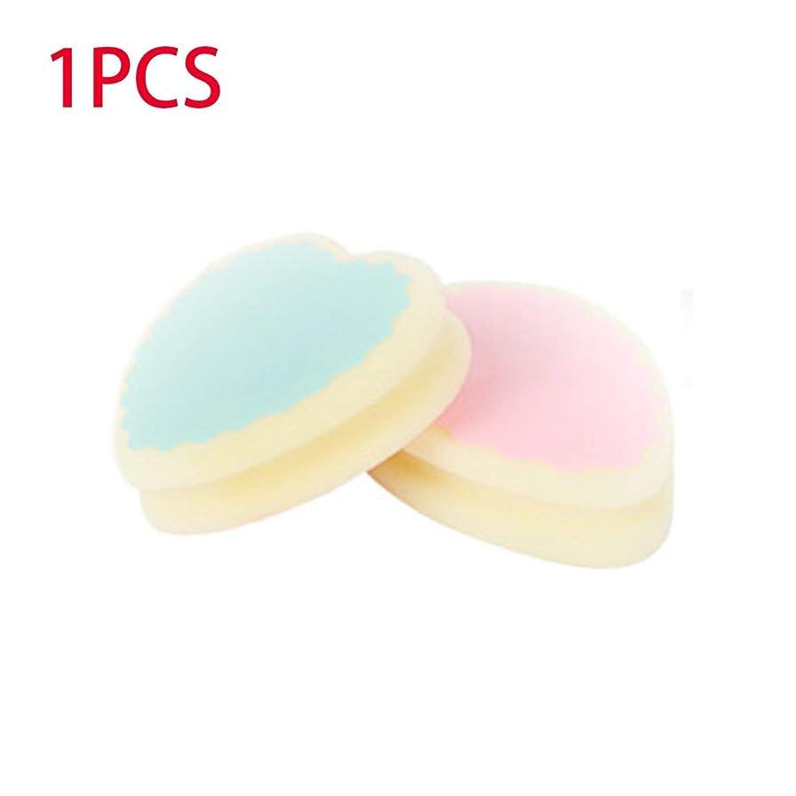 外出腹痛布携帯用サイズの痛みのない女性の毛の取り外しの脱毛のスポンジパッドは毛の除去剤の有効な毛の取り外しのスポンジを取除きます - 黄色及びピンク及び緑