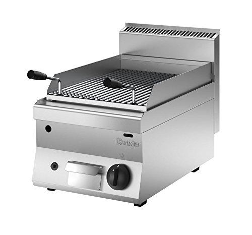 Bartscher 1151583 - Barbecue a gas, serie 650, larghezza 400 mm