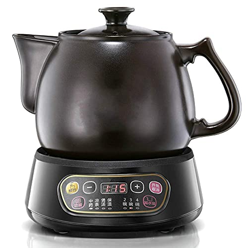 aedouqhr Electric Kettle Full Automatic Chinese Herbal Medicine Medicine Boil Electric Sand Kettle/Electric Kettle Anti-Dry Protection