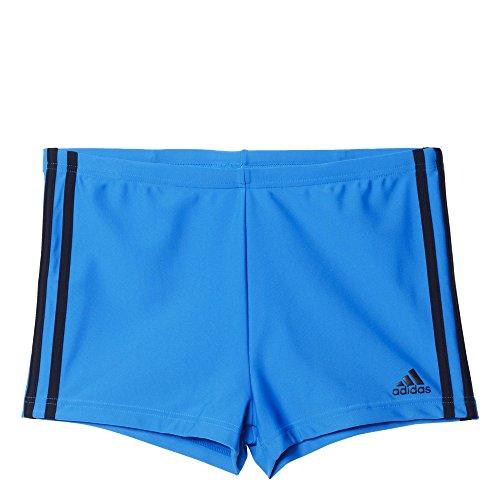 adidas Herren Badeshorts I 3S Boxer Badehose, Shock Blue S16/Black, 5