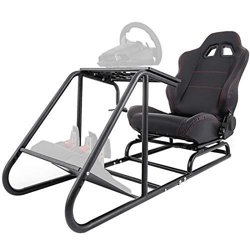 OldFe Il Supporto Giochi Per PS3/4 XBOX Steering Wheel Stand Per Logitech G27 G25 E G29 Volante Con Supporto E Le Sedia [video game]