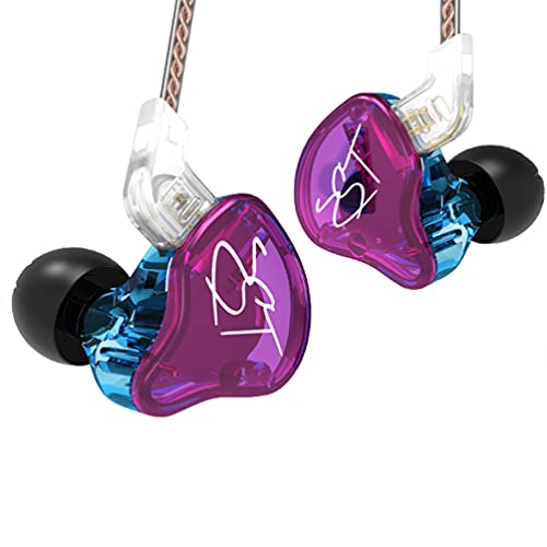 KZ ZST Pro 1BA 1DD in Ear Earphone Clear HiFi Monitor Earbuds Wired Sport Gaming Earphone for Musician Singer Audiophile