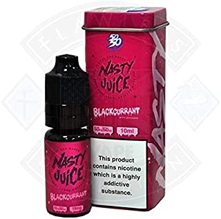 LIQUIDO PARA VAPEAR. NASTY JUICE BLACKCURRANT LEMONADE. LIMONADA DE GROSELLA