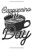 Cappuccino: Notizbuch 120 linierten Seiten in 6x9 Zoll Format (ca.DIN A5) Organizer Planer Notizen Notizheft Tagebuch