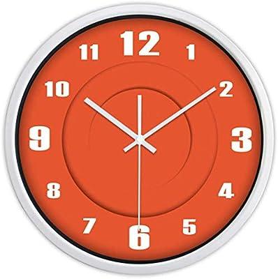 CSQ Campus Silent Wall Clock, Sala de Billar Hall Store Dormitorio ...