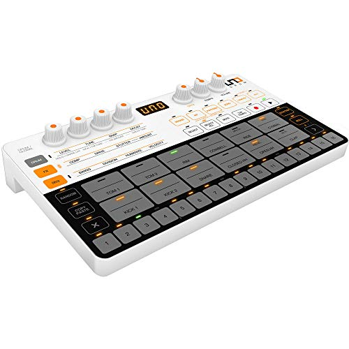 Ik Multimedia Uno Drum IP-UNO-DRUM-IN Analog cm Drum Machine. Completamente Programmabile. Ultra-Portatile.