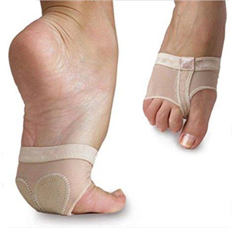 WLM Footful 1 Paar Ballett-Tanz-Thong Metatarsal Pads Fußballen Vorfuß Kissen