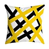 WEUIE 18x18 Square Printed Cushion Cover,Throw Pillow Case,Slipover Pillowslip for Home Sofa Couch Chair Back Seat