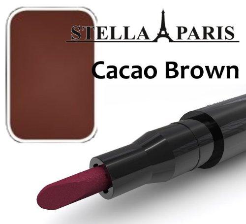 Stella Paris Permanent Lippenstift No. 51 Cacao Brown