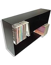 Mueble ESTANTERIA para CD Compact Disc - Metalica Color Negro - para 100 CD - / Ref. 1191