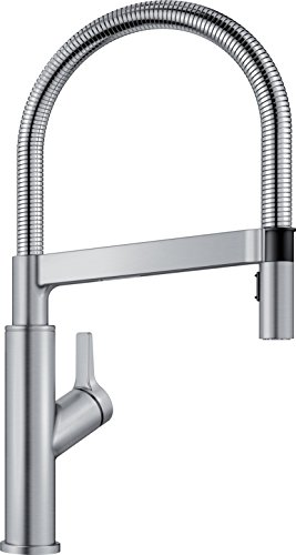 BLANCO, Stainless 401993 SOLENTA SENSO Semi-Pro Kitchen Faucet with Sensor Technology, 1.5 GPM