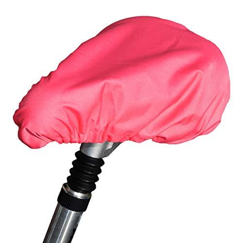 TROCKOLINO Sattelbezug wasserdicht Sattelschutz für das Fahrrad, pink