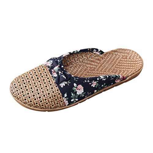 Lightweight Women/Men's Slip On Slippers Non-Slip Shower Sandals House Pool Shoes Bathroom Slide Water Shoes Navy