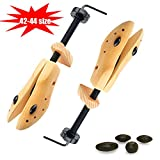 Mens Gents Womens Ladies Wooden Shoe Trees Stretchers Wooden Shapers Expands Length, Width & Height of Tight Footwear