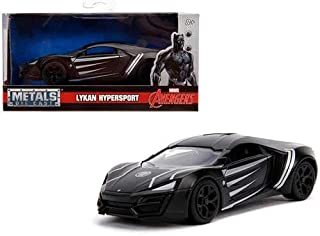 Non/Brand Lykan Hypersport Black Panther Theme Marvel Series 1/32 Diecast Model Car by Jada