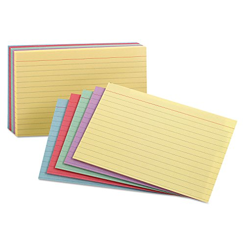 Index Cards, Ruled, 3'x5', 100/PK,...