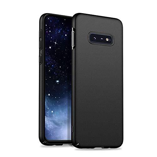 Meidom Ultra Dünn Kompatibel mit Samsung Galaxy S10e Hülle Hochwertigem Handyhülle [Anti-Fingerabdruck] PC Bumper Case Schutzhülle für Samsung Galaxy S10e (5,8 Zoll) - Matt Schwarz