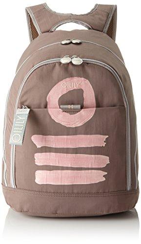 Oilily Damen Fun Nylon Backpack Lvz Rucksackhandtasche Beige (Taupe)