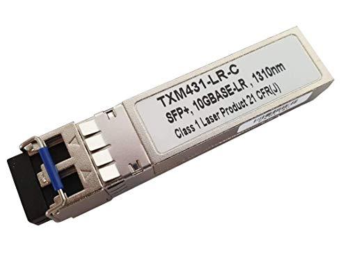 CONBIC® TXM431-LR-C - Ricetrasmettitore SFP compatibile con TP-Link – 10GBASE LR 1310nm (i moduli sono omologati TXM431-LR-C quindi adatti per la rivendita)
