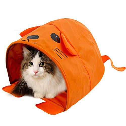 Cartoon Shape Cat Tent Kitten Bed Rabbit Bed Easy Storage Travel Cat Girl Goedkope prijs voor kleine/middelgrote kattenhuispup