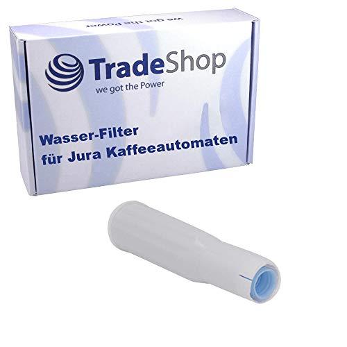 Trade-Shop Wasser-Filter für Jura Impressa E5 E10 E20 E25 E30 E40 E45 E50 E55 E60 E65 E70 E74 E75 E80 E85 / Filterpatrone ersetzt Jura Claris White 60209 68739