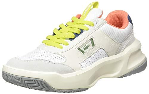 Lacoste Herren ACE Lift 0120 2 SMA Sneaker, Weiß Wht Lt Gry, 41 EU