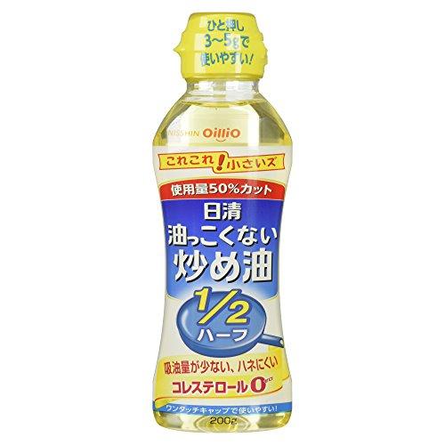 日清オイリオ 炒め油 200g