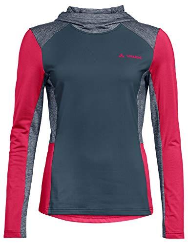 VAUDE Damen Women's Qimsa LS T-Shirt Jacke, Steelblue, 38
