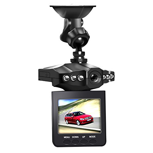 """Dash Cam, Car Dash Camera, MONOLED 2.5"""" 270 Degree Wide View Angle 6 LED Night Mode Dashboard Recorder"""