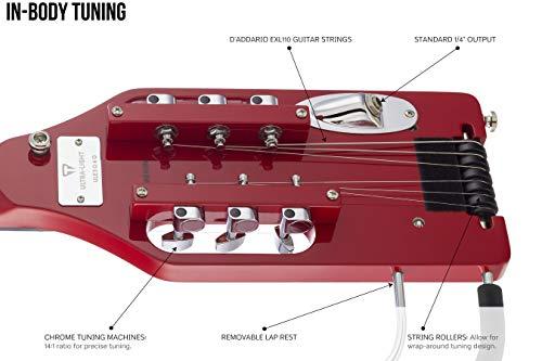 Traveler Guitar Ultra-Light Solid-Body Electric Guitar (ULE TRDG)
