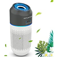 Itshiny Car & Mini HEPA Air Purifier with 4-Stage Filtration