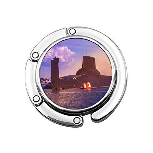 Perchero Monedero Plegable Lindo Gancho Monedero Batalla Armada Submarino Armado Fuerzas navales...