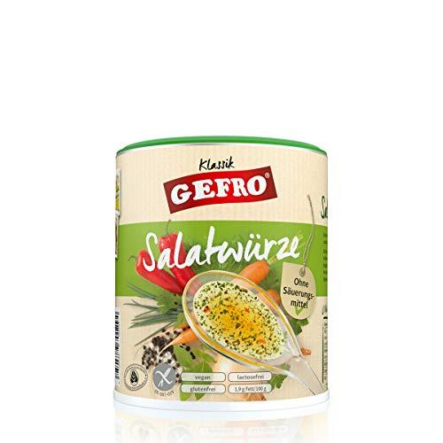 GEFRO Klassik Salatwürze zum Anrühren, leckere Kräuter für leckeres Dressing (400g)