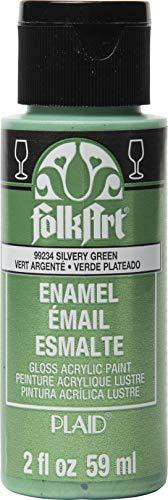FolkArt - Pintura esmaltada brillante y metálica en colores surtidos (2oz), 2798, dorado brillante